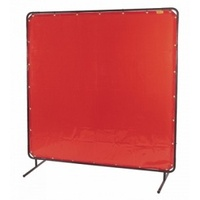 Welding curtain and frame 1.8x1.8 with wheels (p/n:WC1.8xWF1.8)